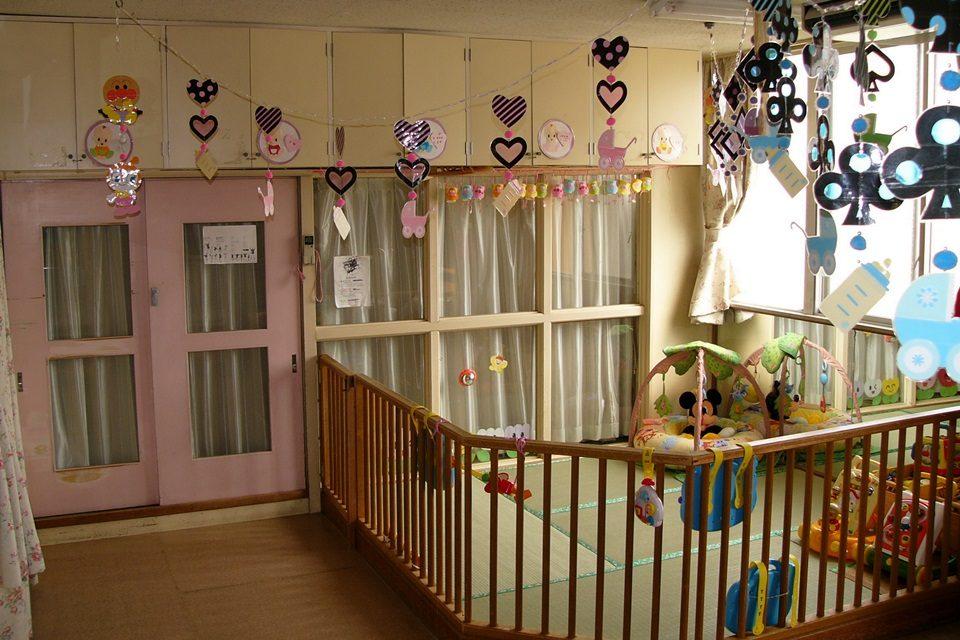乳児院竜陽園 保育室(ひよこさん)