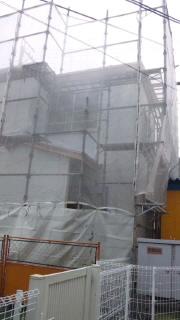 竜陽園 別館工事